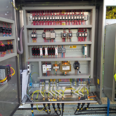 Control panel - internal view